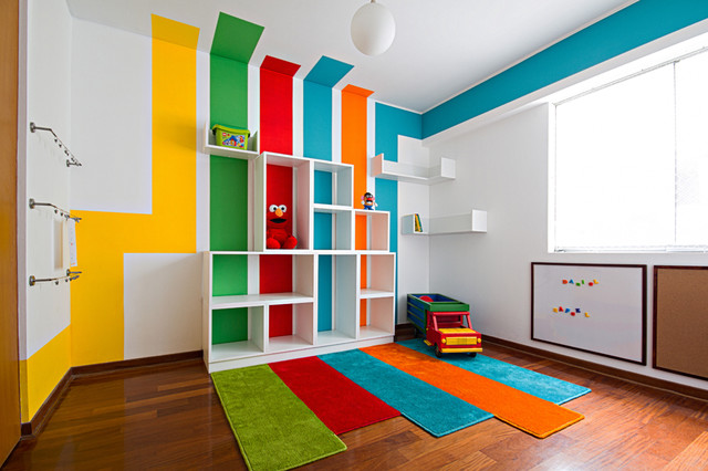 Playroom contemporary-kids