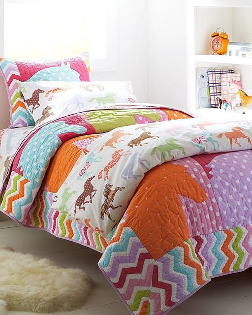 Pony Up Bedroom Traditional Kids