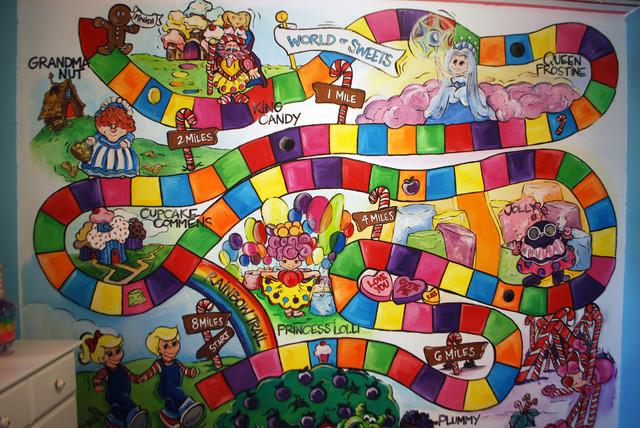 Poppie's Candy Land Room modern-kids