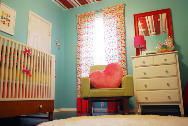 Poppies Candy Land Room modern kids