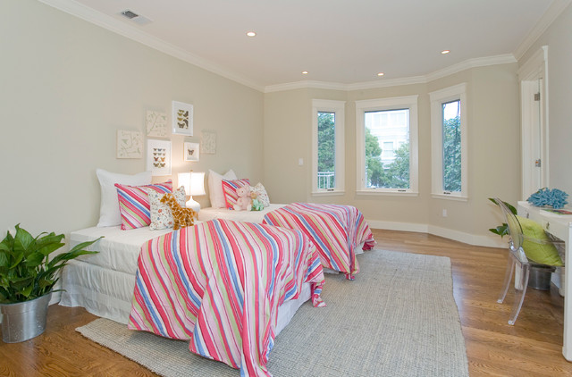 Presidio Heights Contemporary Home traditional-kids