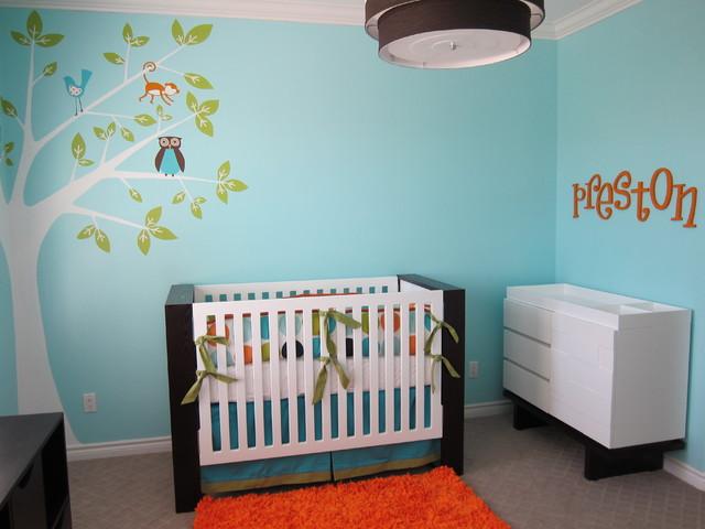 Preston Nursery contemporary-kids