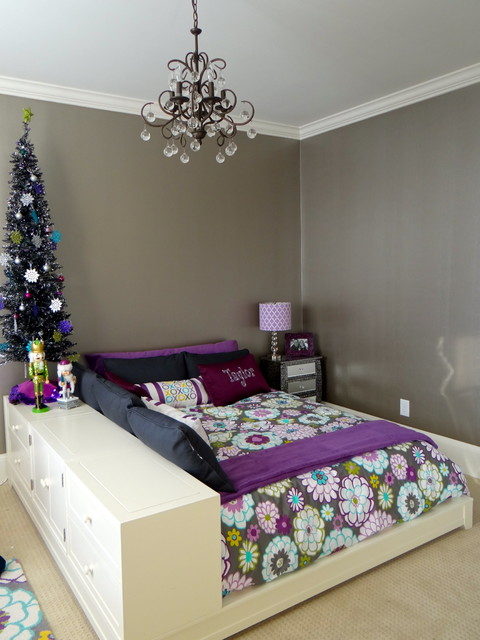 Preteen Glam Bedroom - Modern - Kids - charlotte - by Whirlygig ...