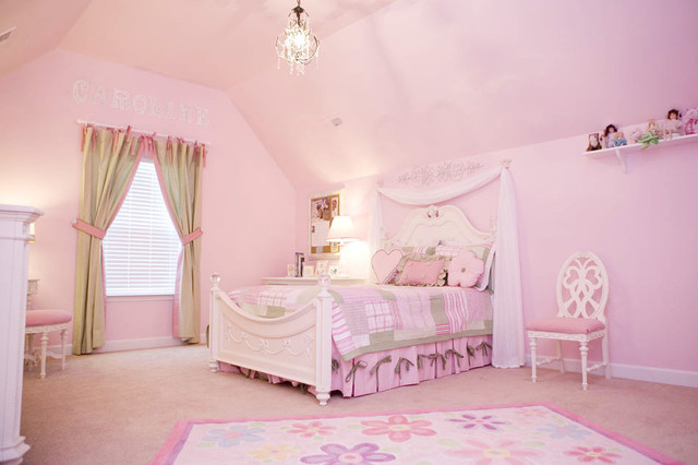 A Pretty Princess Room | Pink bedroom for girls, Pink ...