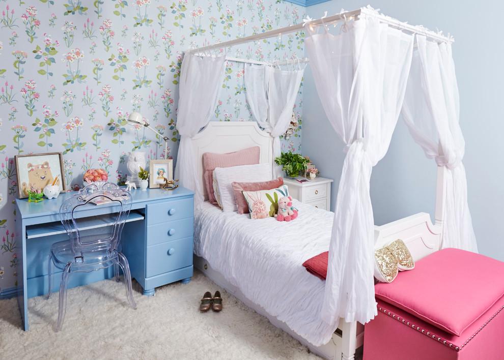 Pretty Little Girl S Room Shabby Chic Style Kids Los Angeles By Sarah Barnard Design Houzz