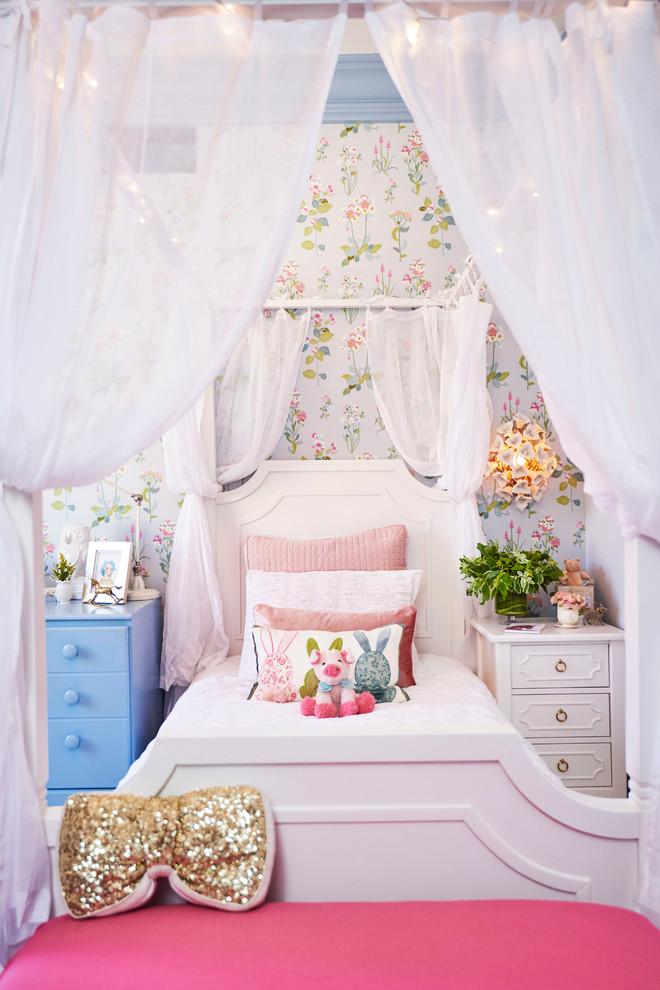 Pretty Little Girl S Room Shabby Chic Style Kids Los Angeles By Sarah Barnard Design