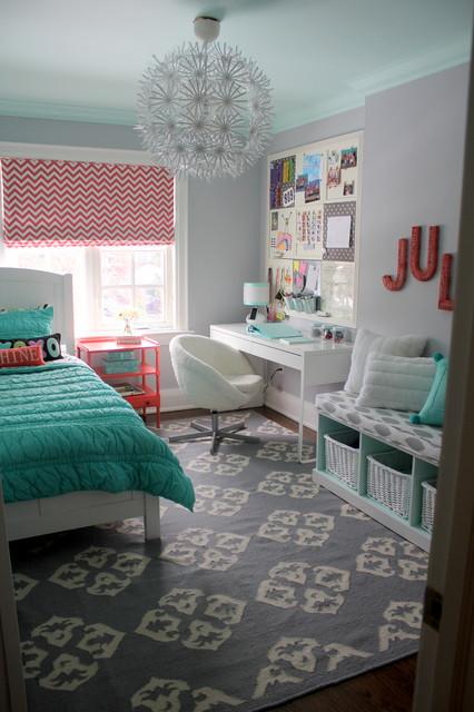 Pretty Tween Bedroom contemporary-kids