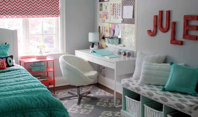 pretty tween bedroom contemporary kids