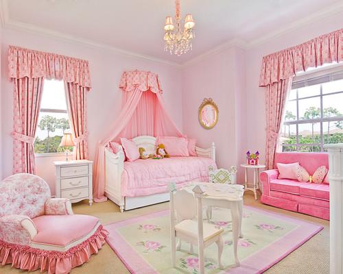 أروع ديكورات لغرف نوم للبنات traditional-kids.jpg