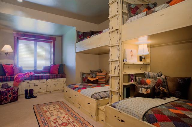 Promontory Bunk Room eclectic-kids