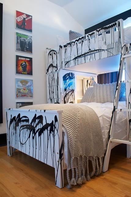 Band Room Design: Punk Rock Bedroom