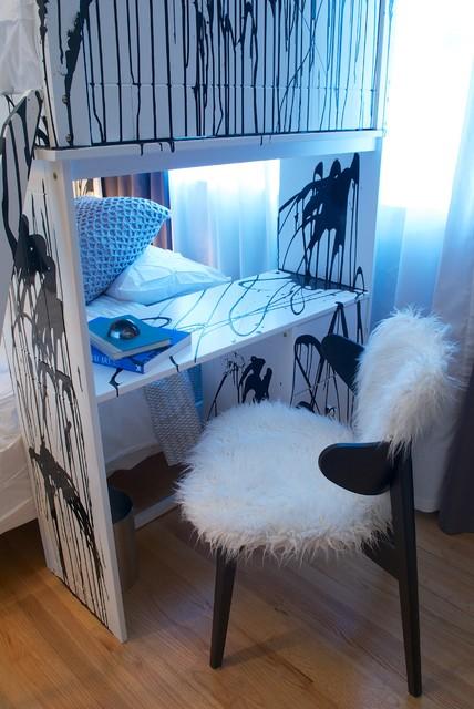 Punk rock bedroom contemporary kids los angeles by star