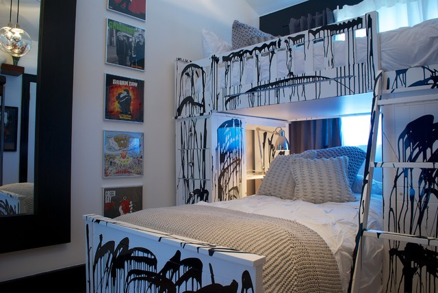 Punk Rock Bedroom Contemporary Kids Los Angeles By