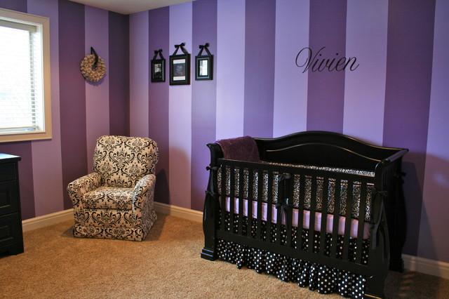 Purple Nursery Modern Kids Salt Lake City