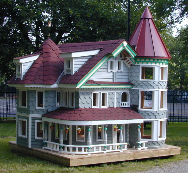 Quigley custom homes playhouse naperville victorian for Custom built victorian homes