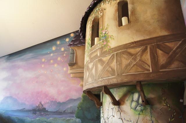 Salt Lamps Doncaster : Rapunzel Tower - Traditional - Kids - salt lake city - by Walker Home Design