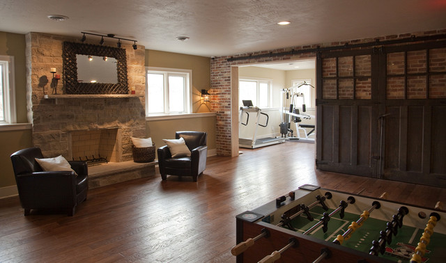 Reclaimed Carriage House Doors eclectic-kids