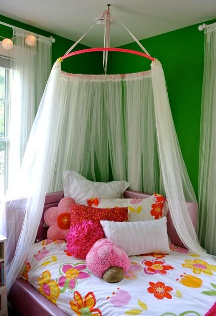 reDIY | hula hoop canopy traditional-kids & reDIY | hula hoop canopy - Traditional - Kids - Charlotte - by the ...