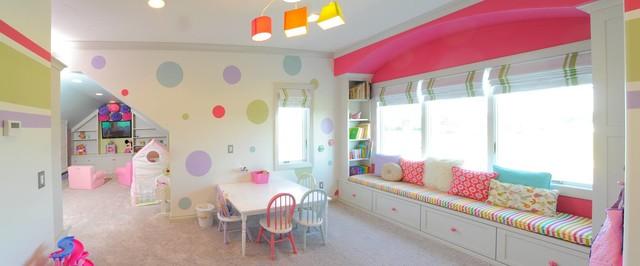 Restoration Hardware Style Home transitional-kids