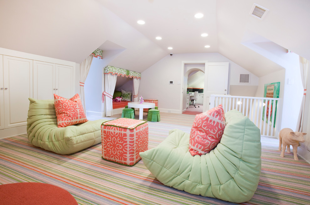 Inspiration for a contemporary playroom remodel in Houston