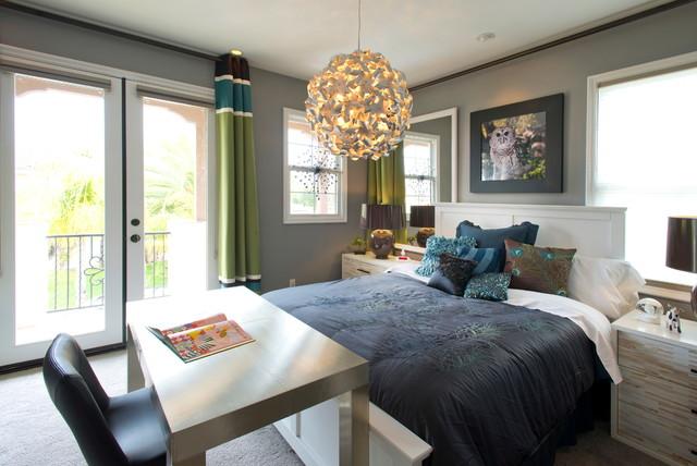 design for a bedroom. Robeson Design Hip Girls Bedroom Contemporary Kids  Contemporary Kids San Diego
