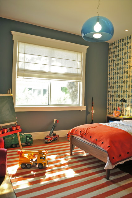 Robot boy 39 s bedroom contemporary kids miami by b for Robot bedroom