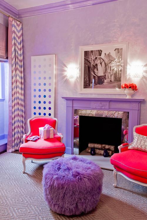 Inspirational Dazzling Purple Bedroom Designs