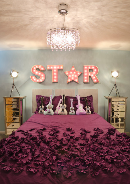Rock Star Room   Transitional   Kids   cleveland   by Taylor Design