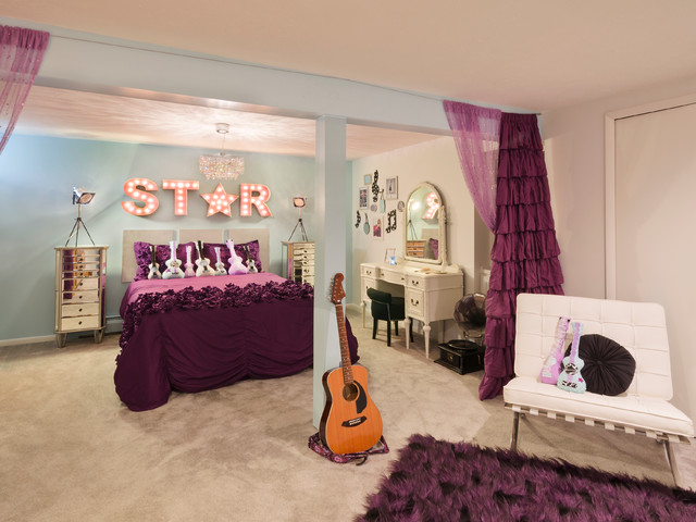 Rock Star Room - Transitional - Kids - Cleveland - by