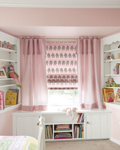 Roman Shades traditional-kids