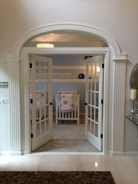 Room conversion - office to nursery - Traditional - Kids ...