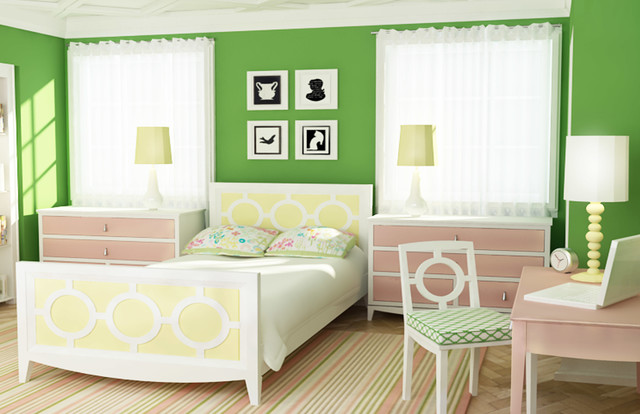 rooms contemporary-kids