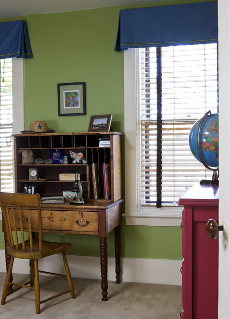 Row House Interiors Kids Room eclectic-kids
