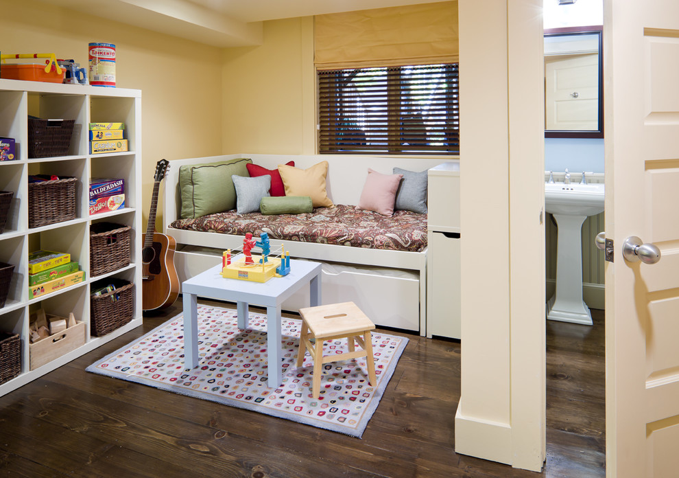 Example of an eclectic playroom design in Boston