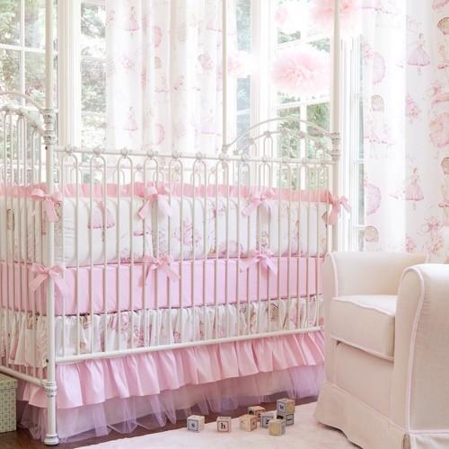 Royal Ballet Crib Bedding traditional-kids