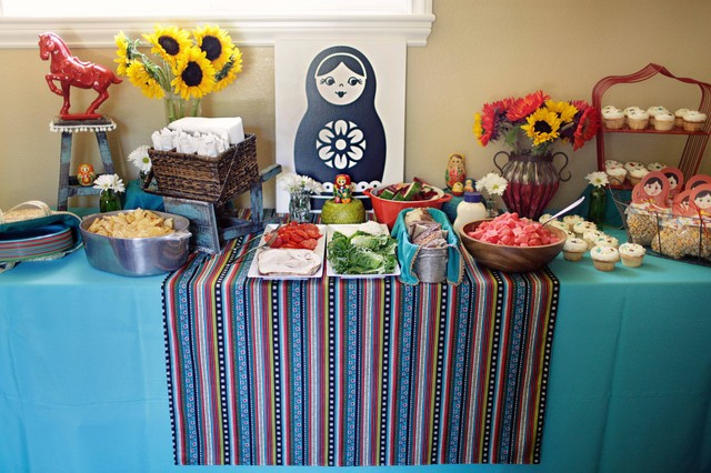 Russian Doll Themed Birthday Party Eclectic Kids San
