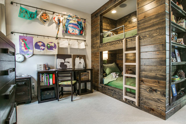 Rustic Bunk Beds Country Kids Dallas By Olsen Studios