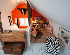 Re-purposing an Attic rustic-kids