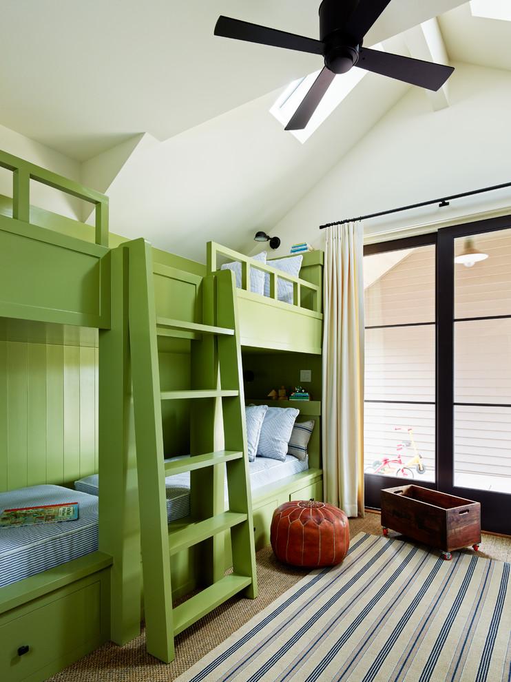 Kids' bedroom - transitional kids' bedroom idea in San Francisco