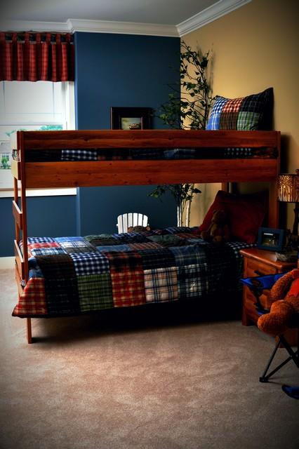 Seneca Boys' Bedroom rustic-kids