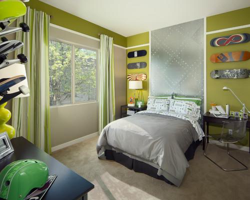 Extreme sports bedroom ideas design dazzle for Boys skateboard bedroom ideas