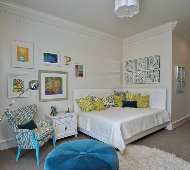 showhouse bedroom for teen girl eclectic kids