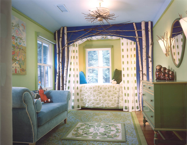 Simple Forest Room eclectic-kids
