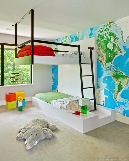 Simply Modern Bauhaus Look Kinderzimmer Austin Von