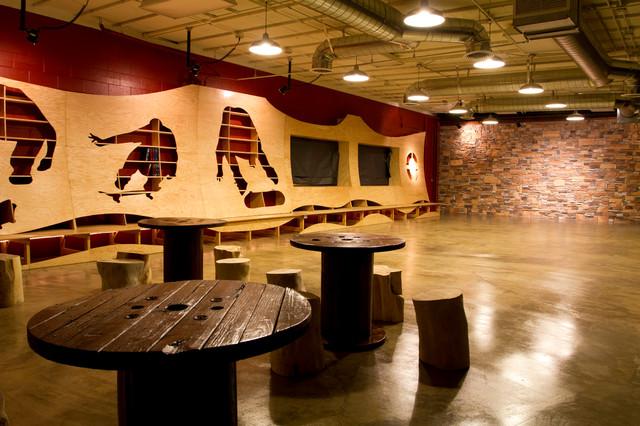 Skateboard Themed Room