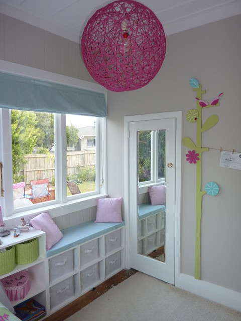 Small Girl Bedroom Contemporary Auckland