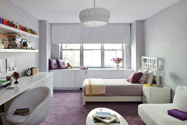 Soft modern manhattan residence modern kids new york for Soft modern interior design