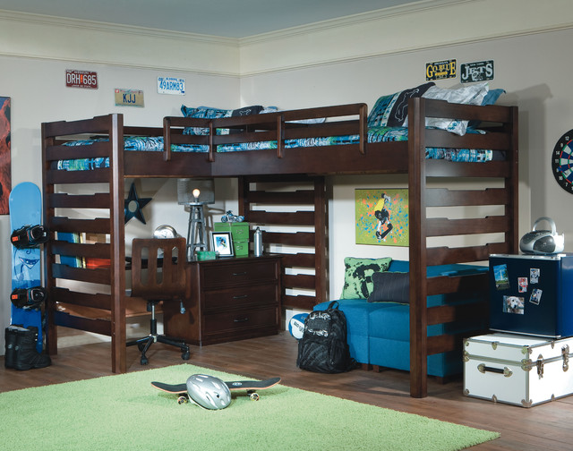 Solution to a Small Room contemporary-kids