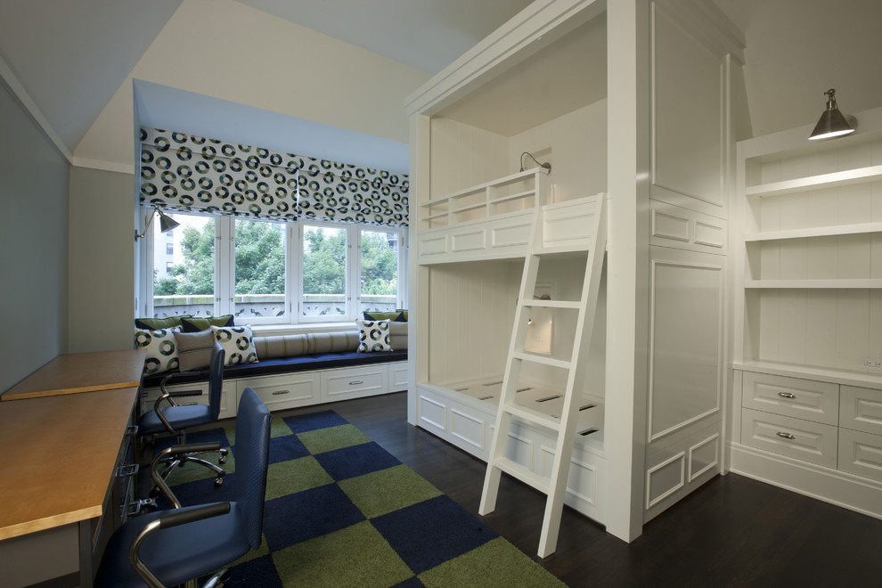 Inspiration for a contemporary kids' room remodel in Chicago