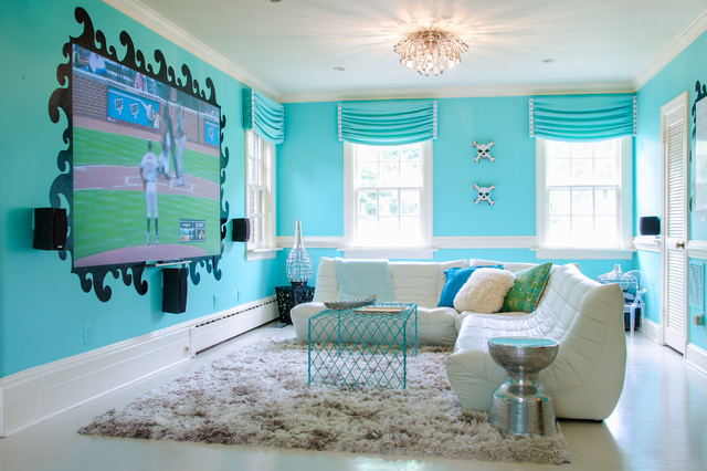 South Beach Teen Room - Contemporary - Kids - Richmond ...